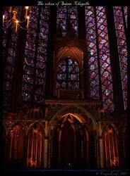The colors of Sainte-Chapelle