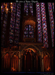 The colors of Sainte-Chapelle by FrogenLeaf