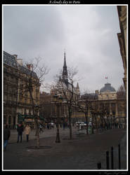 A cloudy day in Paris by FrogenLeaf