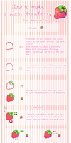 Pixel strawberry tutorial
