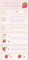 Pixel strawberry tutorial