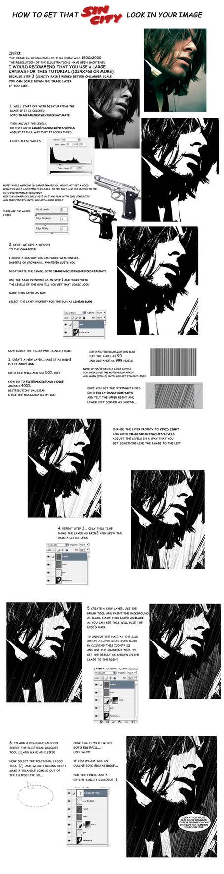sincity tutorial by sulfar