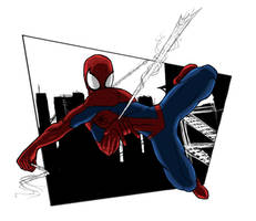 spidey colored by sulfar