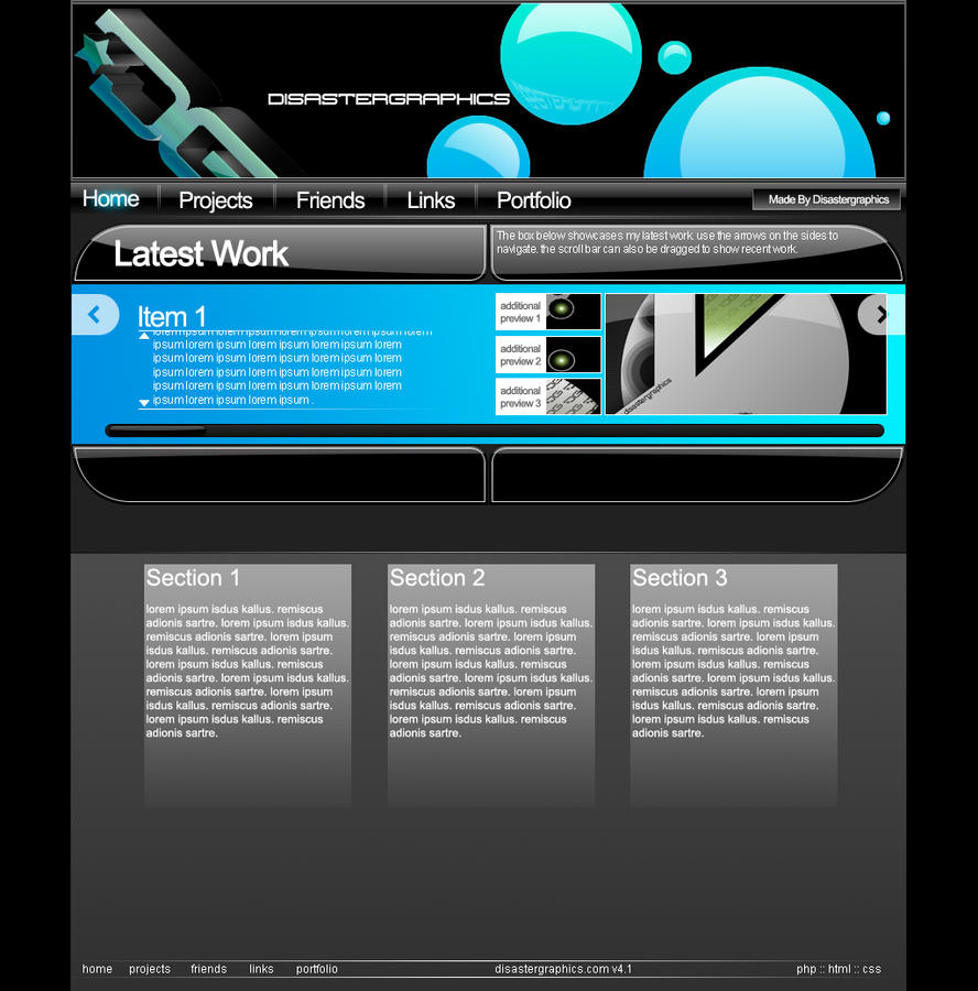 Disastergraphics V4 Home Page by ison-trade
