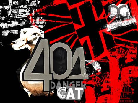 404 Danger Cat