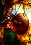 Ghaelen Runeheart -Commission-
