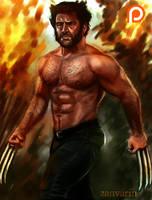 Wolverine -Patreon Gift Art- by ZanVarin