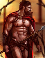 King Leonidas -Commission- by ZanVarin