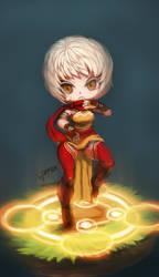 diablo3 - monk , female by chrier
