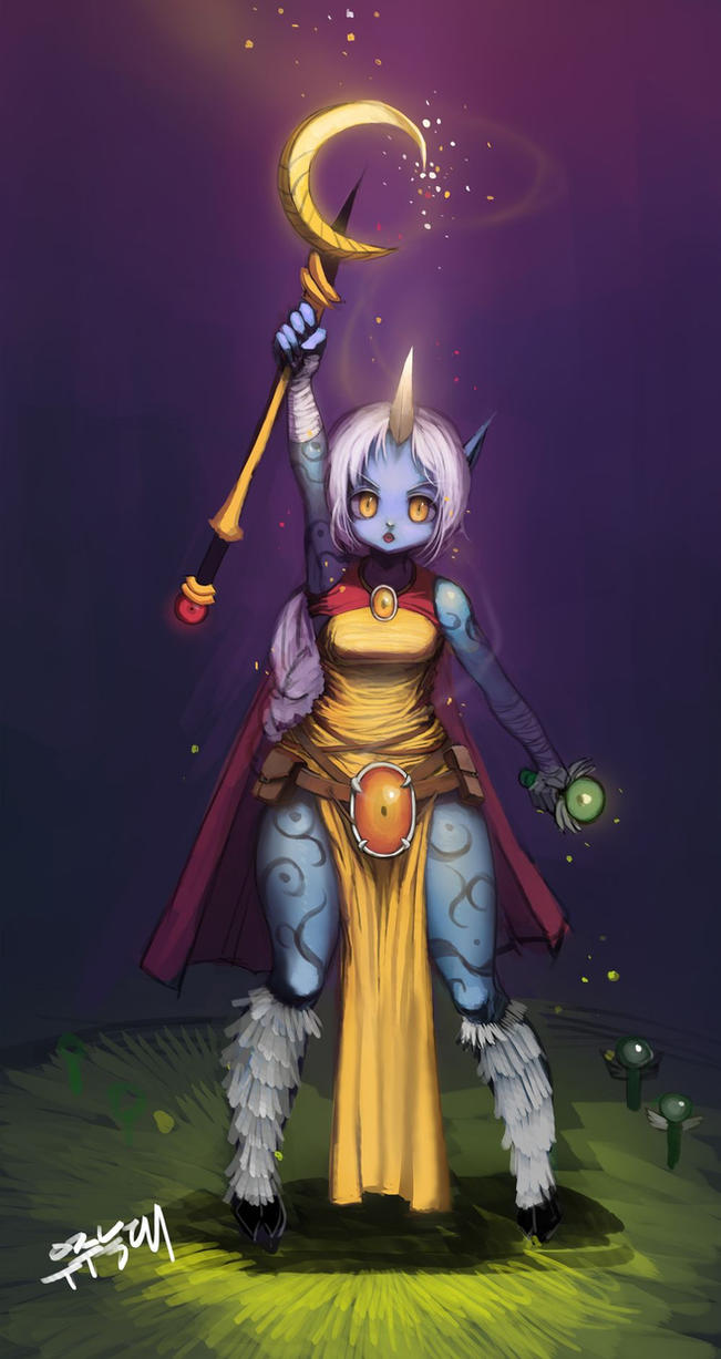 LOL-soraka by chrier
