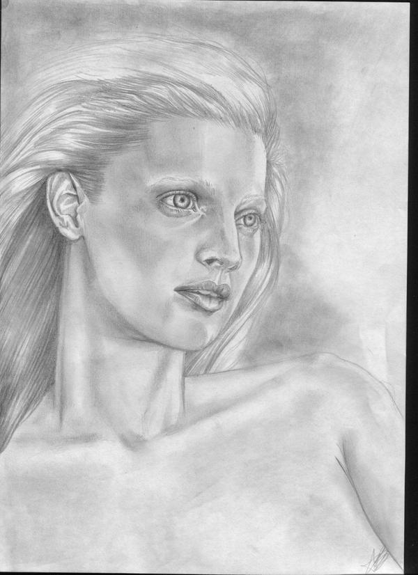 portrait of a woman by aryundomiel