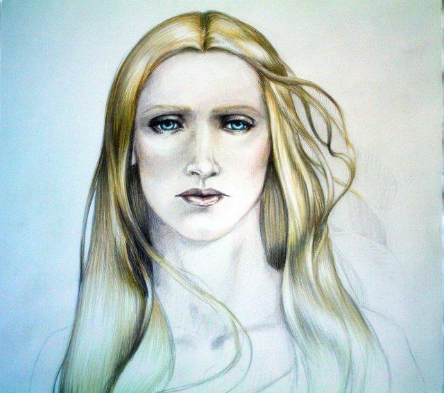 the white dame of Rohan by aryundomiel
