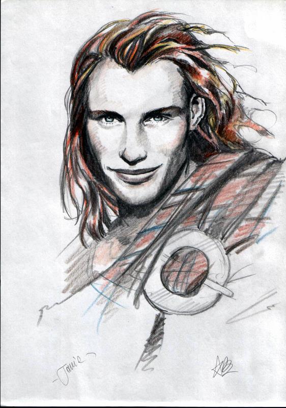 Jamie-the outlander by aryundomiel