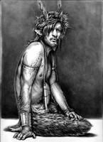 Mamock the faun by aryundomiel