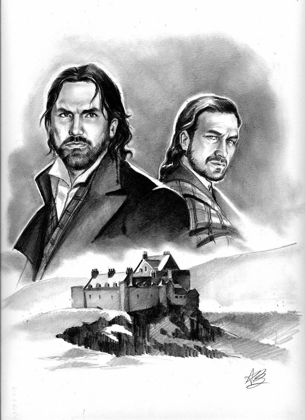 the MacKenzie brothers by aryundomiel