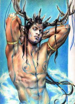 Cernunnos the Horned God
