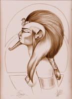 Sphinx by aryundomiel