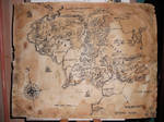 commission- Middle Earth map