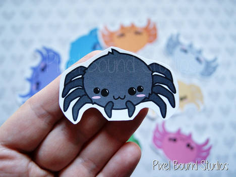 Chibi Spider Stickers and Magnets