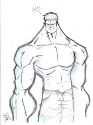 Hulk_pencils by quatro