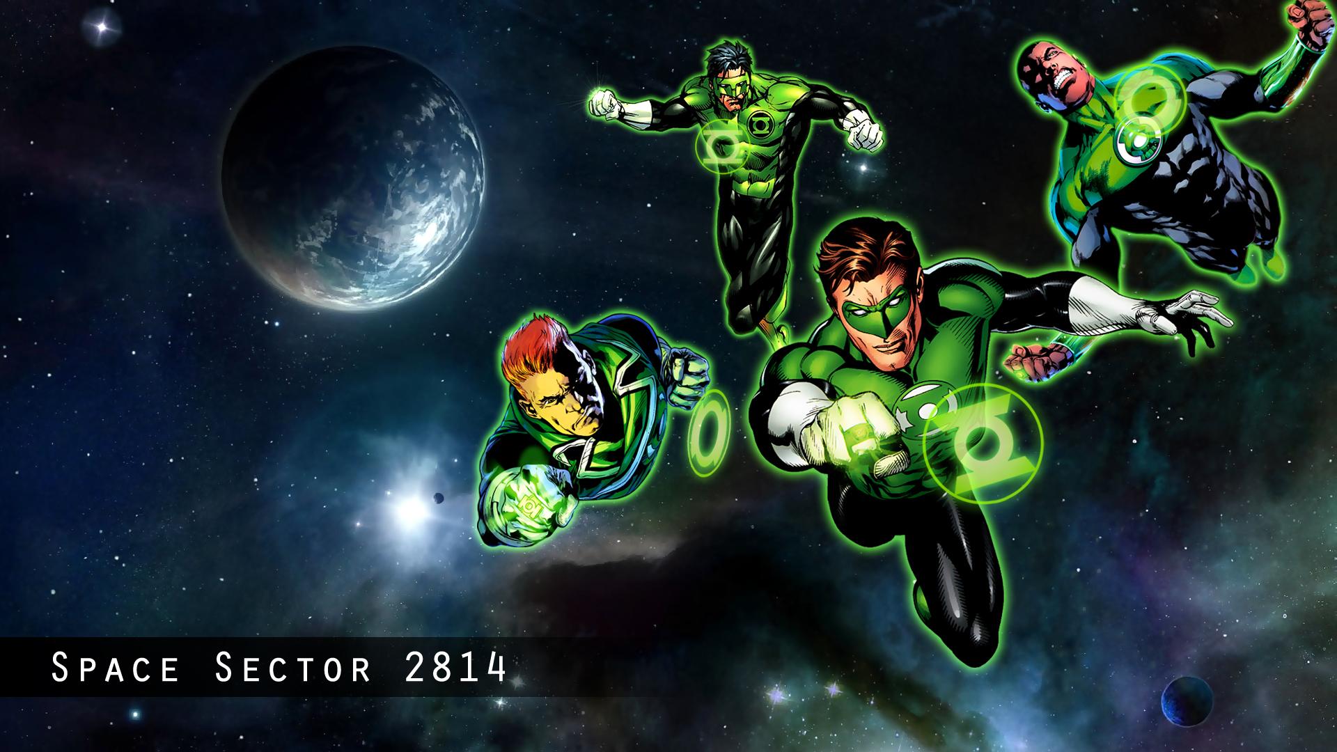 green lantern artwork wallpaper - photo #17