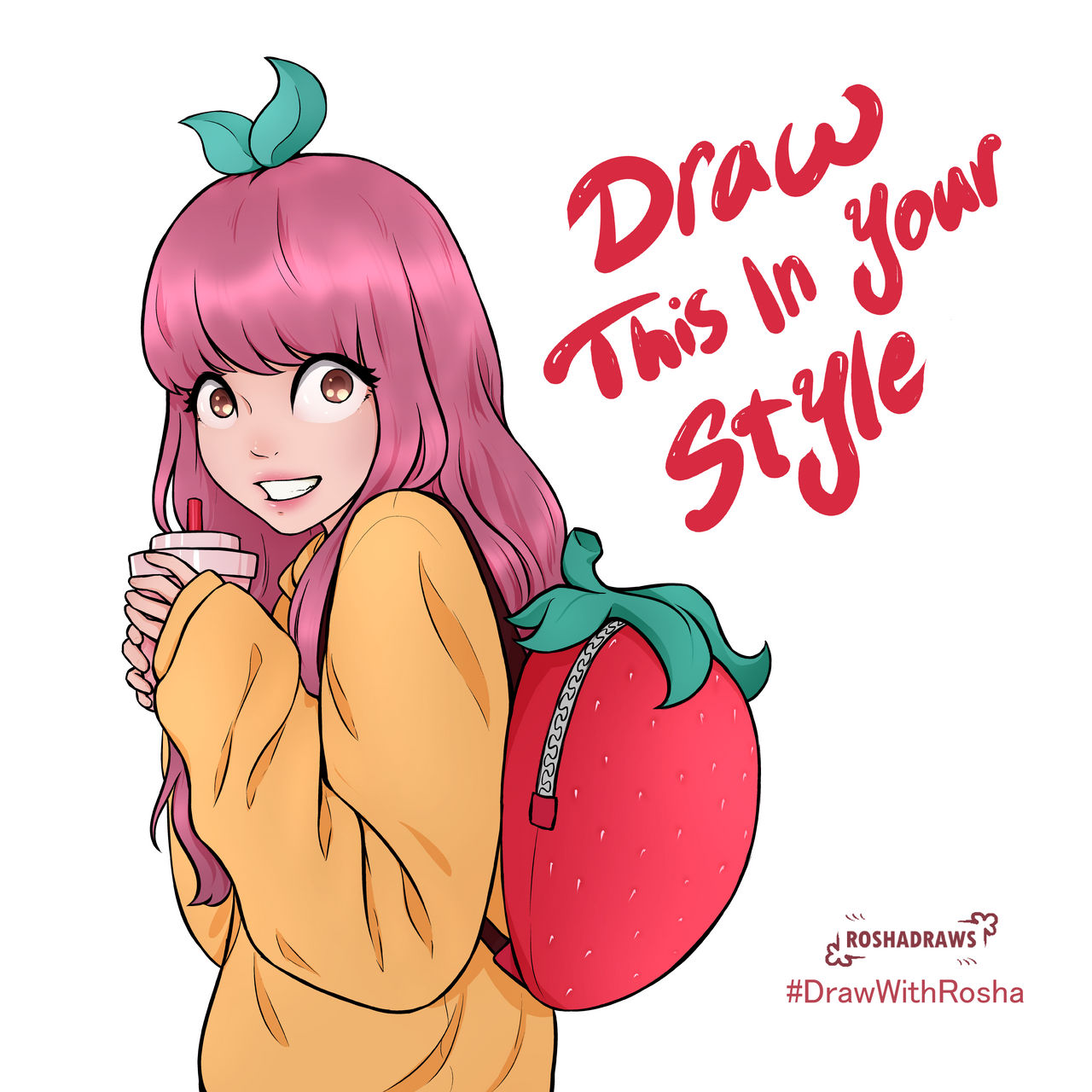 Draw Toffey In Your Style!