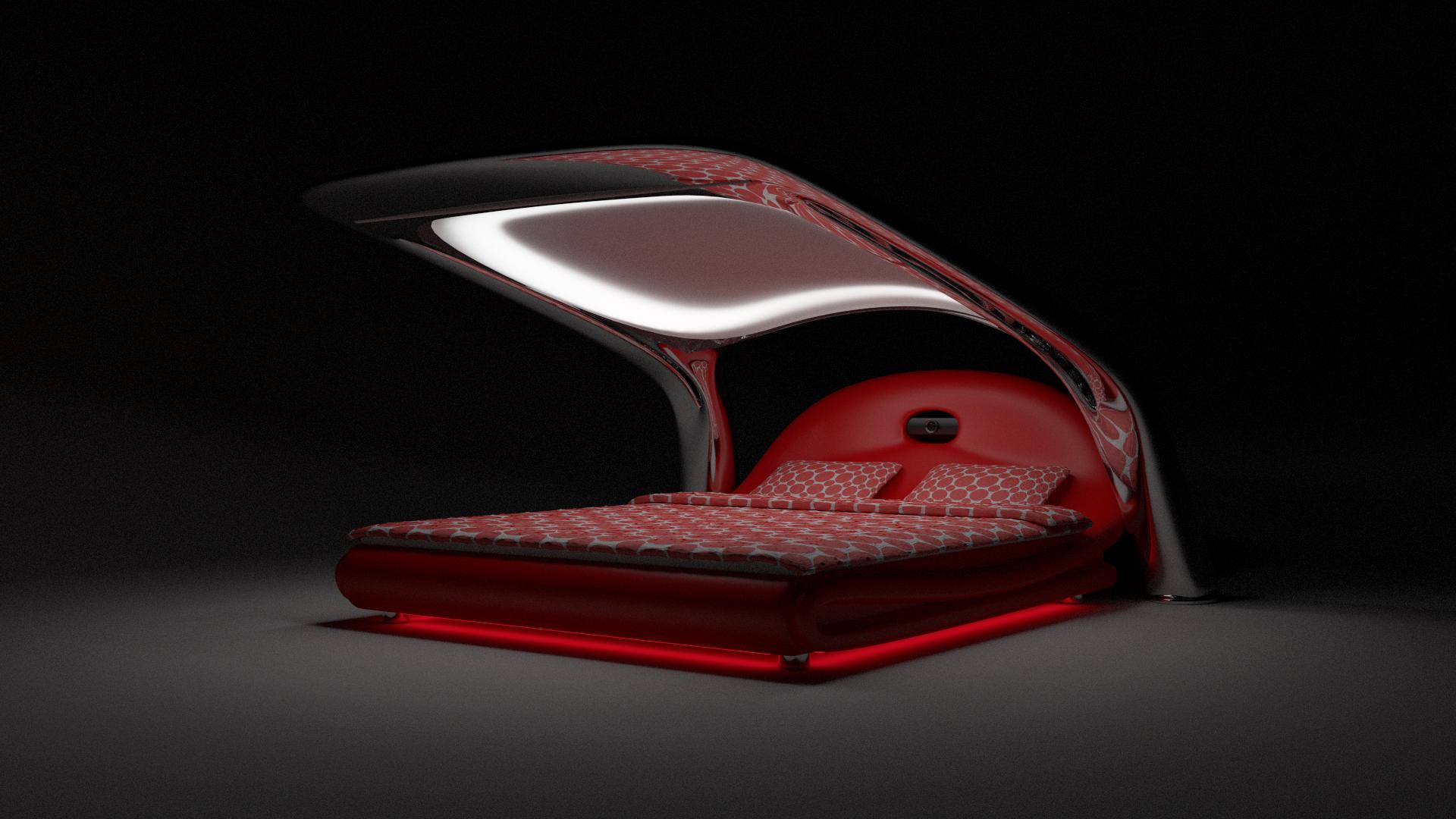 futuristic bed concept2 by hlupekkk on deviantart 26 futuristic bedroom designs decoholic