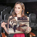 Gal Gadot | Promoting the Justice League