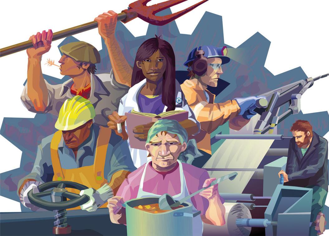 Dia del Trabajador Movimiento Evita by Demonh86