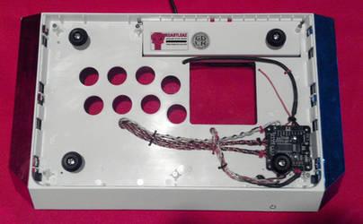 Arcade Stick Wiring - Madcatz 360 TE w/ ChimpSMD by FrankCastleAZ