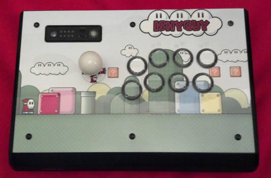 Arcade Stick Finished - Mario/Shyguy - Madcatz TE