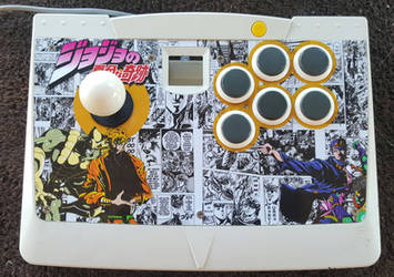 Arcade Stick Finished - Dio - Agetec Dreamcast by FrankCastleAZ