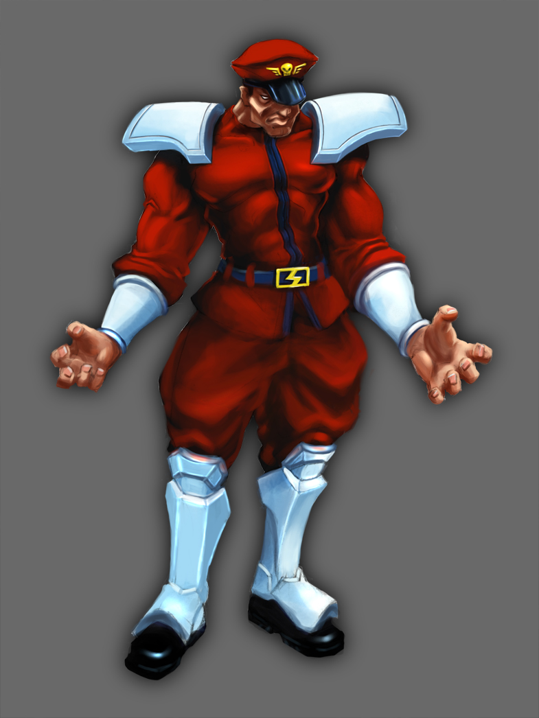 Street Fighter IV - M. Bison by worksofheart on DeviantArt