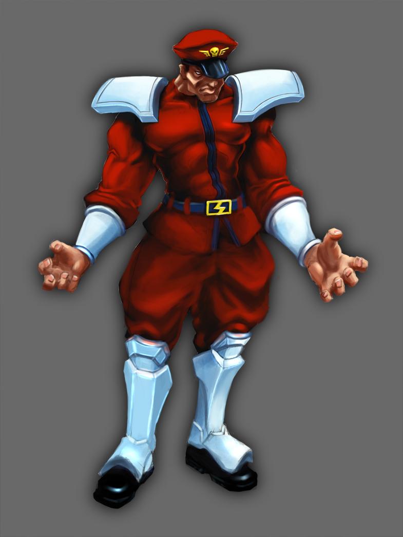 Street Fighter IV - M. Bison by worksofheart on DeviantArt