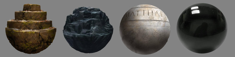 Material Studies II by worksofheart