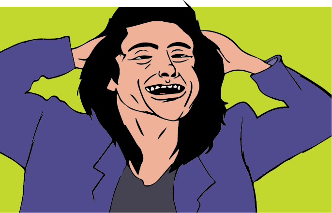 Tommy Wiseau Tour >> Tommy Wiseau laughing! by 90sfanboy on DeviantArt