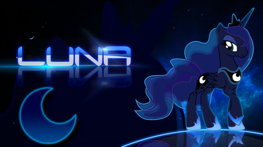 Princess Luna Wallpaper By Cubengine On DeviantArt