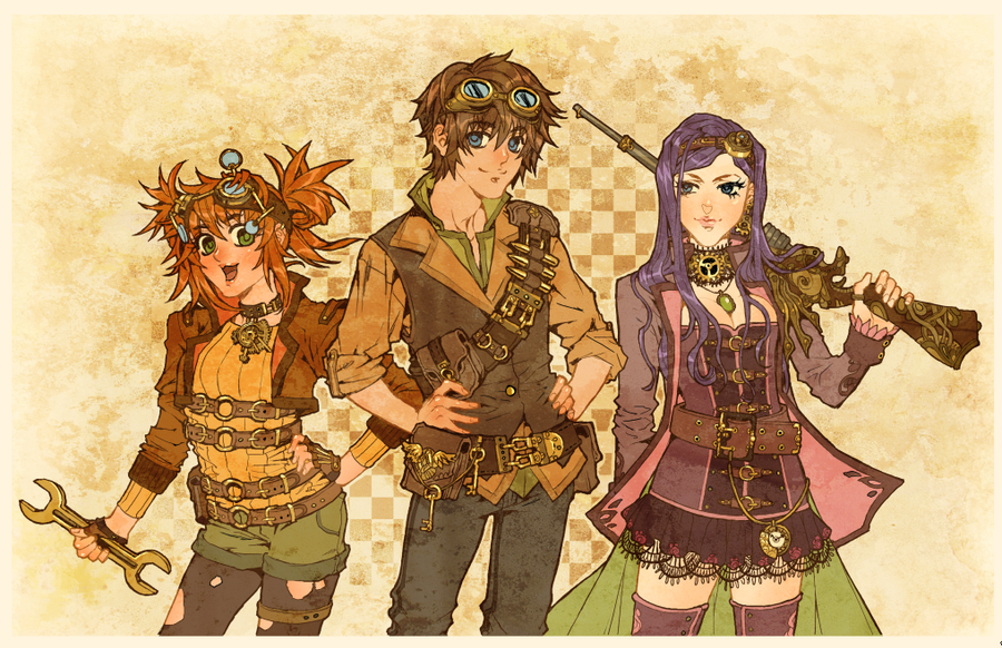 steam punk anime steampunk - photo #43