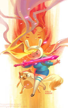 Fionna and Cake Variant Cover