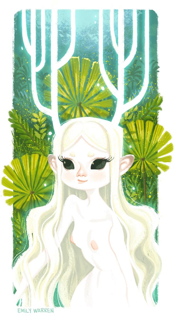 Forest Spirit by emilywarrenart
