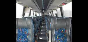 Volvo 7550 interior