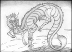 Dragontaur by Jamiragon