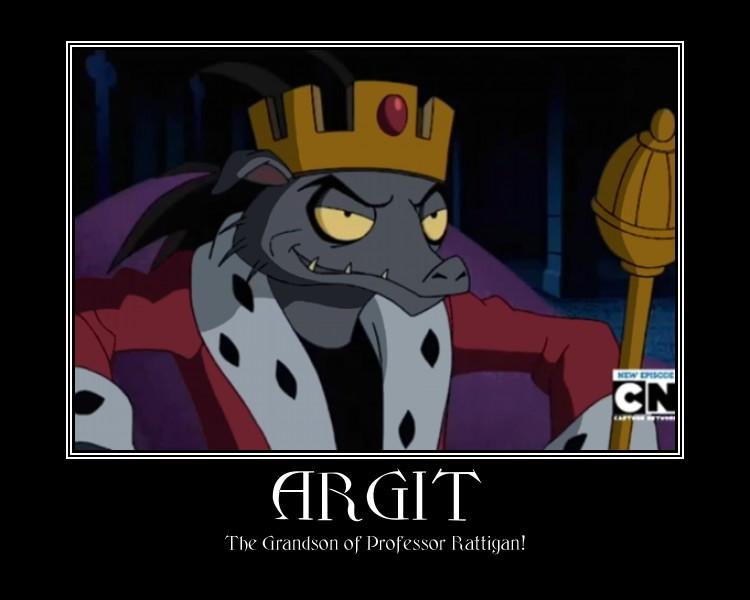 King Argit by Sephirath21000