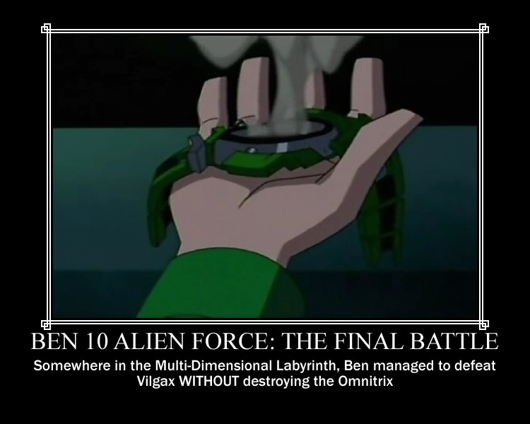 Ben 10 Omnitix Demotivational by Sephirath21000