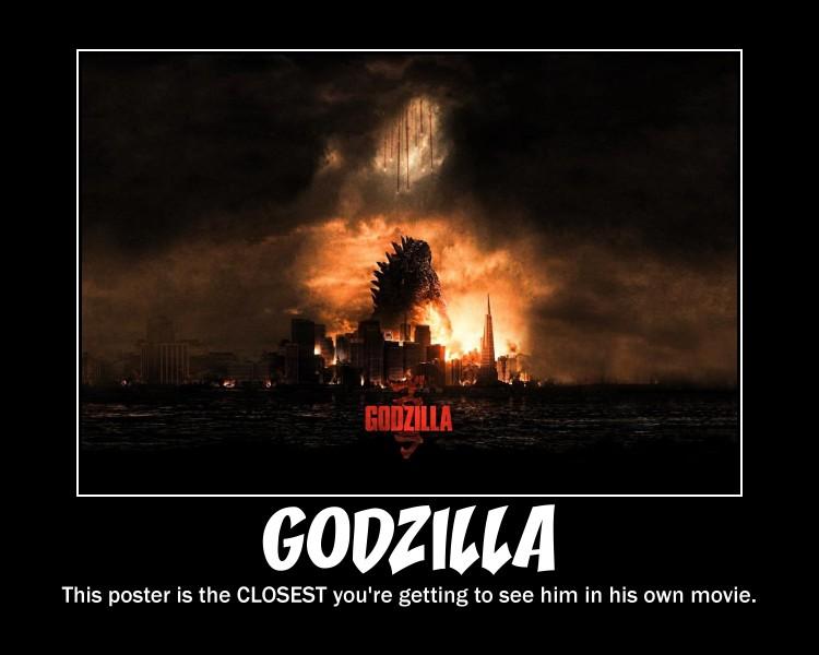Godzilla Demotivational by Sephirath21000