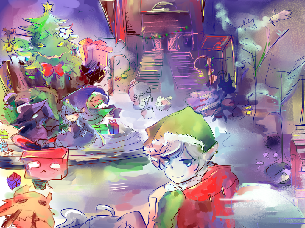 Bandlecity Christmas by Kyorukki
