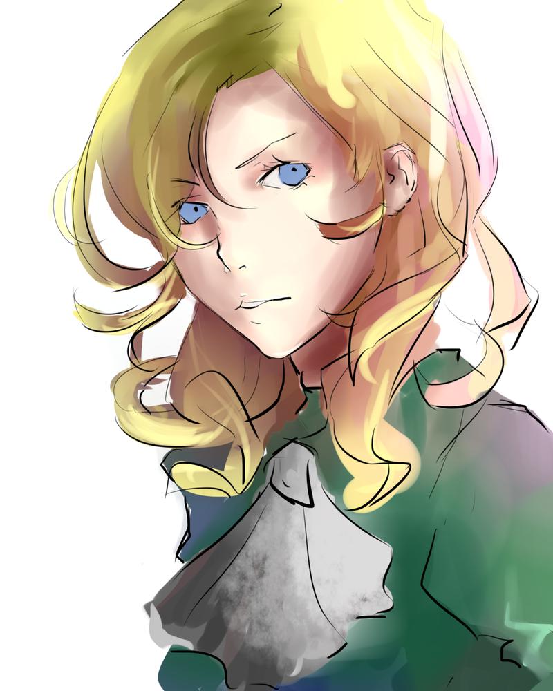 Mary sketch by Kyorukki