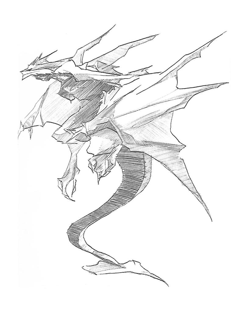 Dragon 2 by Kyorukki
