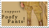 I support poofy pants