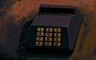 Telephone close-up by ink532